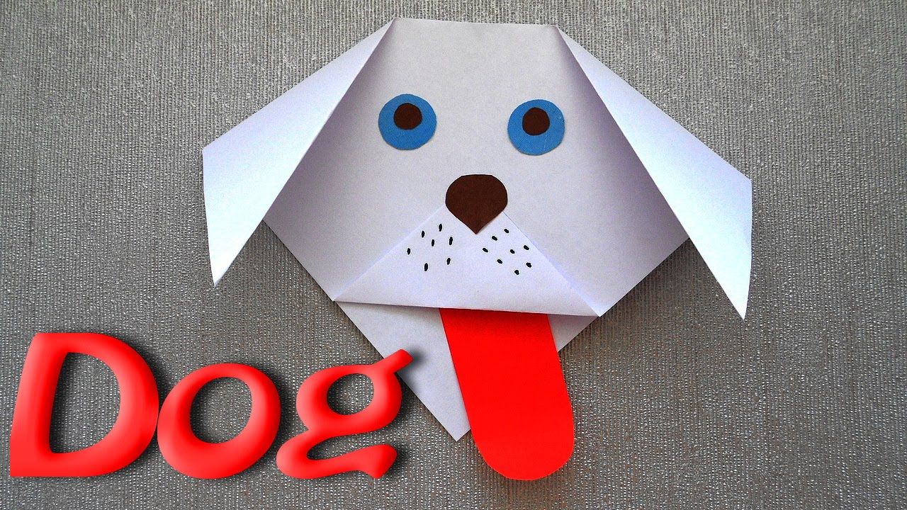 How to make a dog out of paper