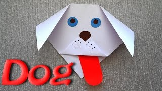 How to make Origami  Dog out of Paper in 2 Minutes? Origami for Beginners