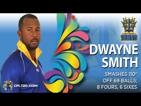 Dwayne Smith 110* vs St Lucia Zouks (Game 10) | #CPL15
