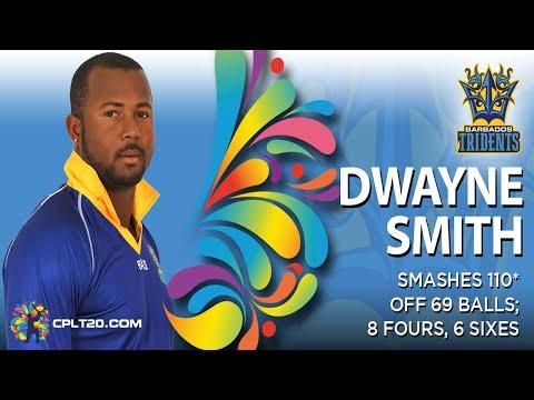 Dwayne Smith 110* vs St Lucia Zouks (Game 10) | #CPL15