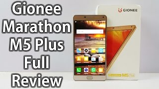 Gionee Marathon M5 Plus Unboxing & Full Hands on Review - Nothing Wired