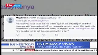 US Embassy in Nairobi announces new stand over e-passport