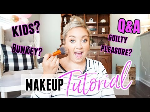 FULL FACE MAKEUP TUTORIAL | Q & A | GET READY WITH ME | JESSICA O'DONOHUE thumbnail