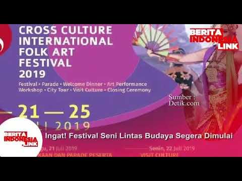 Festival Seni Lintas Budaya akan segera dimulai di Surabaya 21-25 Juli 2019