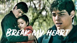 "Lara Jean+ Peter - ""Break my heart into a thousand pieces"""