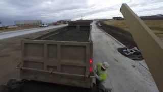 Overcast Concrete Dump Trucks 10/8/14