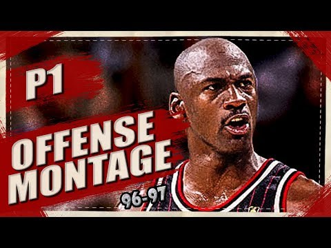 Michael Jordan SKILLFUL Offense Highlights Montage 1996/1997 (Part 1) 1080p HD