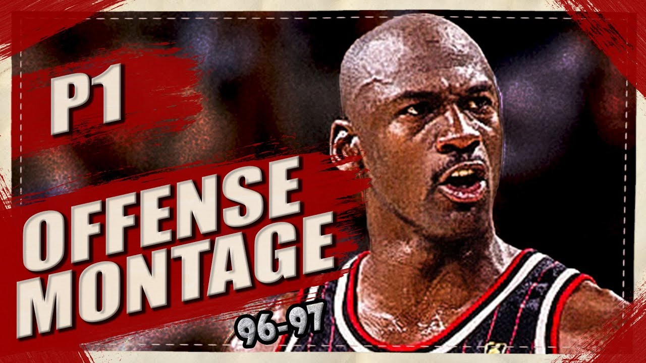 73a0518011f Michael Jordan SKILLFUL Offense Highlights Montage 1996/1997 (Part 1) 1080p  HD