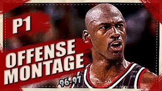 Michael Jordan Skillful Offense Highlights Montage 1996/1997 (part 1) 1080p Hd