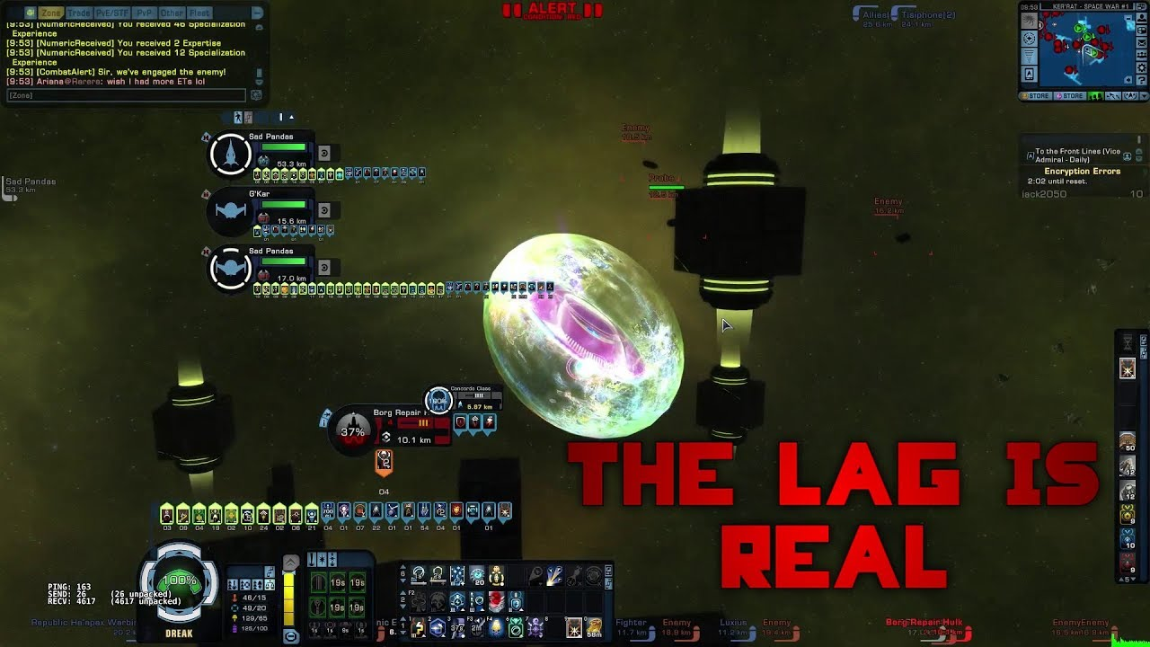 Star Trek Online: Exploit to Lag/Crash players (April 2018)