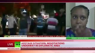 Hostage situation unfolding in Dhaka Banghladesh