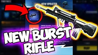 *LEAKED* HOW TO GET THE NEW GUN IN FORTNITE!!! *BURST ASSAULT RIFLE* (Fortnite Battle Royale)