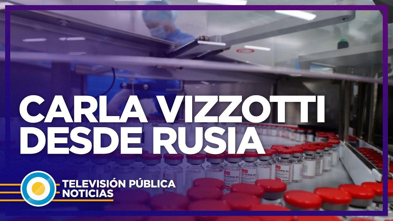 """Vizzotti desde Rusia: """"Ya recomendaron ampliar la edad para vacunar"""" -  YouTube"""