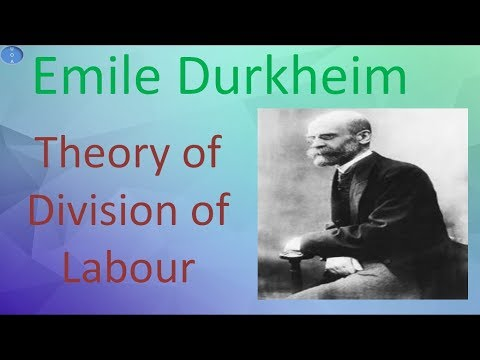 Emile Durkheim Theory of Division of Labour Sociology Optional UPSC CSE