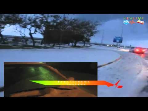 Libyen News Tripolis 06.02.2012 bad weather and snow