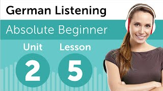 German Listening Practice - Making Plans For The Day In German