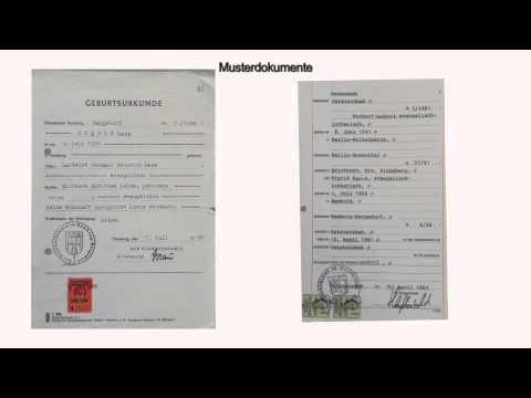 Welche Dokumente brauchen Sie im Sterbefall? -Mit Checkliste- - YouTube