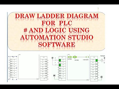 Draw Ladder Diagram For Plc Using Automation Studio Software Youtube