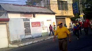 Marcha Oficialista Betijoque 26/02/2014