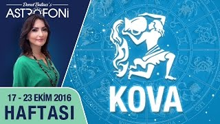 KOVA burcu haftalık yorumu 17 - 23 Ekim 2016