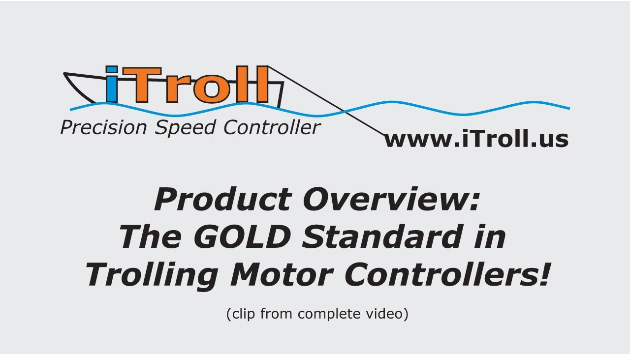 iTroll Precision Speed + Throttle Controller for gas powered kicker