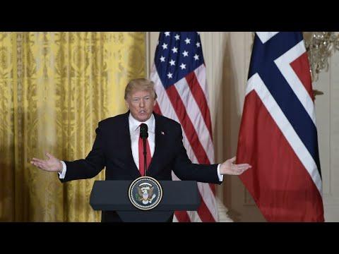 US - Trump says US could 'conceivably' rejoin Paris climate pact