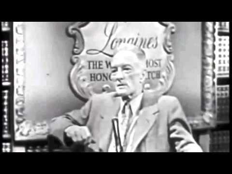 Richard E. Byrd Longines Chronoscope dt. Untertitel