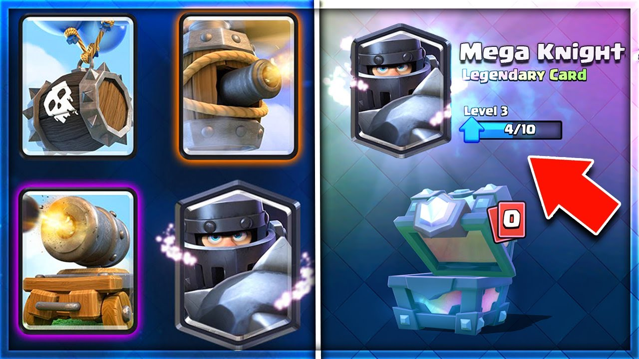 WHERE IS THE MEGA KNIGHT & OTHER NEW CARDS in Clash Royale!?