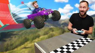 RC Truck Obstacle Course Challenge! | GTA5