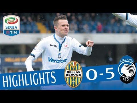 Verona - Atalanta 0-5 - Highlights - Giornata 29 - Serie A TIM 2017/18