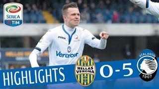 Verona - Atalanta 0-5 - Highlights - Giornata 29 - Serie A TIM 2017/18 streaming