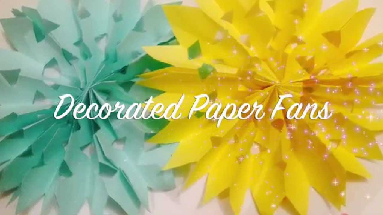 How to make paper rosettes paper fan decoration wedding how to make paper rosettes paper fan decoration wedding decoration wedding backdrop youtube mightylinksfo Choice Image