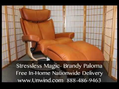 Stressless Magic by Ekornes- Brandy Leather- Free In-Home Delivery & Stressless Magic by Ekornes- Brandy Leather- Free In-Home Delivery ... islam-shia.org