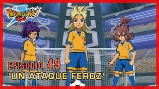 vuclip Inazuma Eleven Go Chrono Stones - Episodio 49 español «¡Un ataque feroz!»