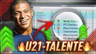 KÖNNTEN DIE BESTEN U21-TALENTE EIN 4. LIGA TEAM IN DIE BPL BRINGEN!?? 🤔💥 FIFA 18 EXPERIMENT