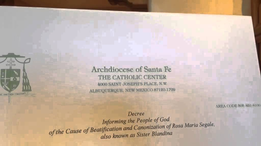 New Mexico could get its first Catholic saint