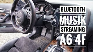 Audi A6 4F - Bluetooth Musik Streaming