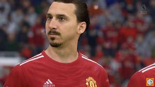 FIFA 18 | Manchester United Career Mode | EPL | vs. Tottenham Hotspur | XB1