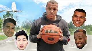 Best basketball players on youtube!! (calling out other youtubers)