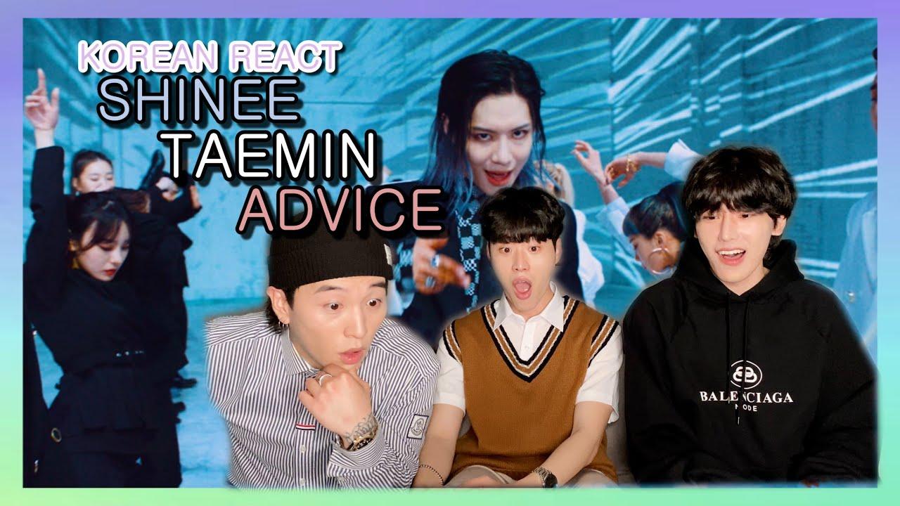 Korean React To TAEMIN 'Advice' MV