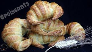 Croissants o medialunas de Mantequilla | La receta que funciona