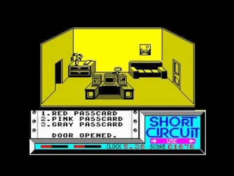 Short Circuit Walkthrough, ZX Spectrum