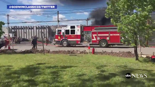 Small plane crashes in industrial area near Carlstadt, New Jersey