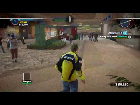 Playing Dead Rising 2 for the first time. Hopefully this will stay on! :\