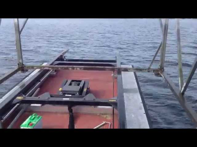 Boat Lift Water Transport - New 2014 Barge