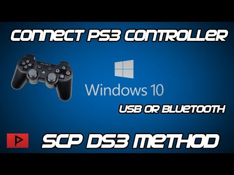 [How To] Connect PS3 Controller To PC On Windows 10 (SCP DS3 Method)
