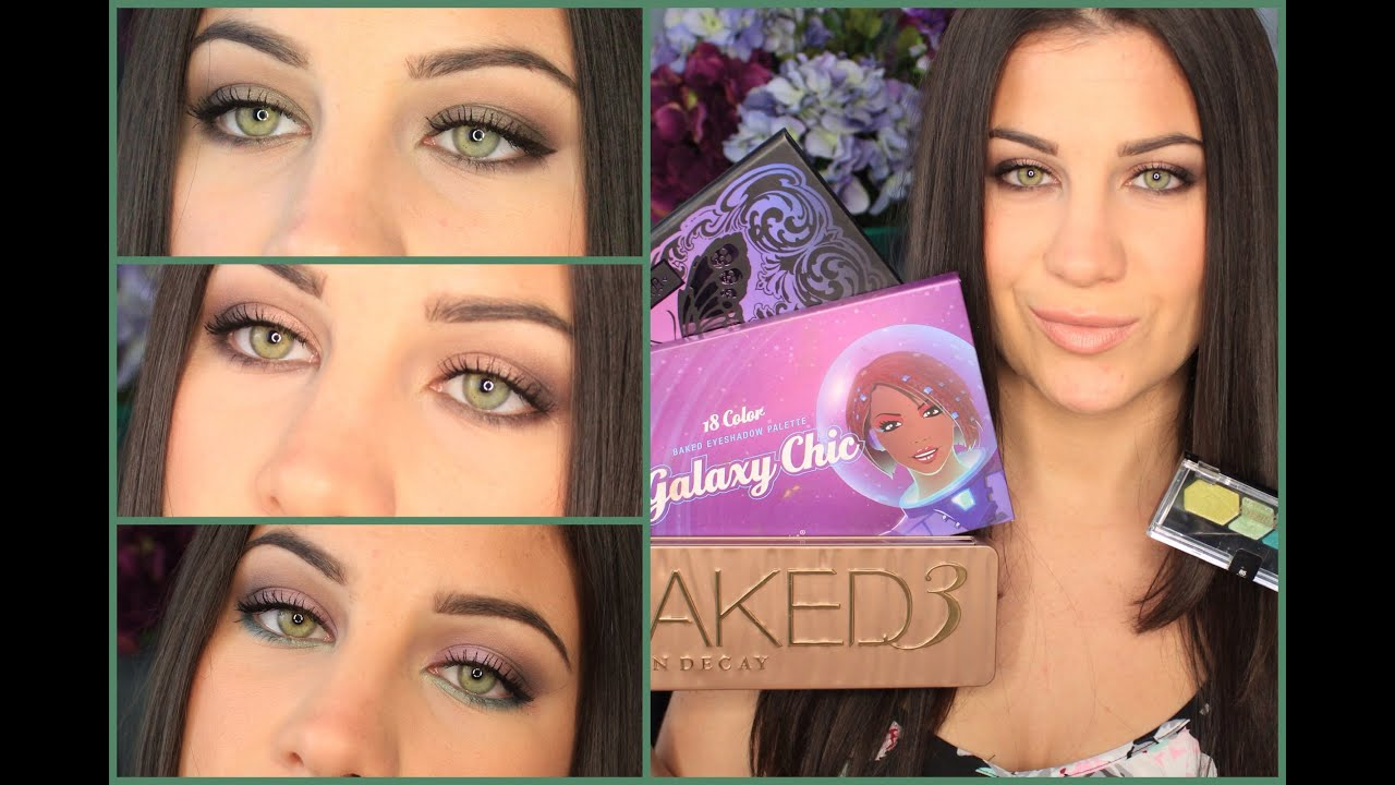 Best Palettes For Green Eyes Youtube