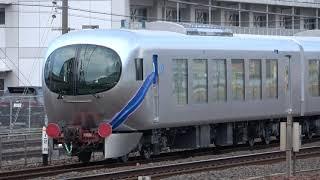 """西武001系 """"Laview"""" E編成甲種輸送(20191026) Delivering Seibu 001 EMU """"Laview"""" E fleet"""