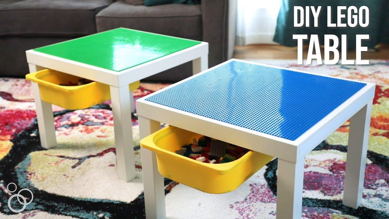 Easy Diy Ikea Lego Table With Storage