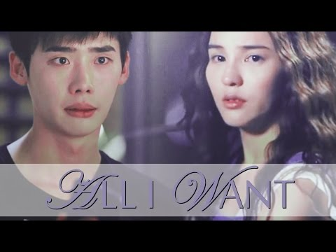 all I need is to find somebody. | Lee Jong Suk & Aom [crossover]